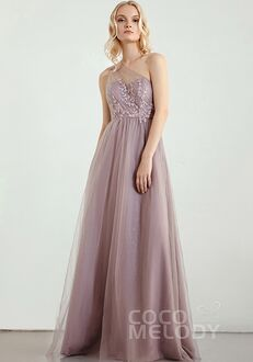 CocoMelody Bridesmaid Dresses RB0308 One Shoulder Bridesmaid Dress