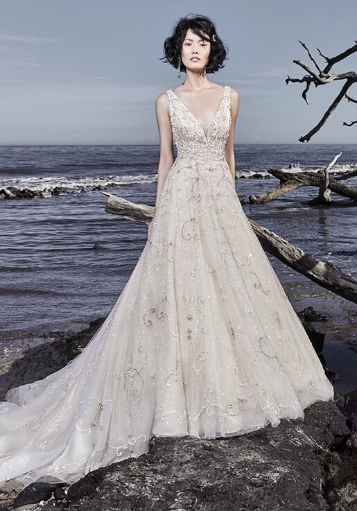 Sottero and Midgley Maven A-Line Wedding Dress