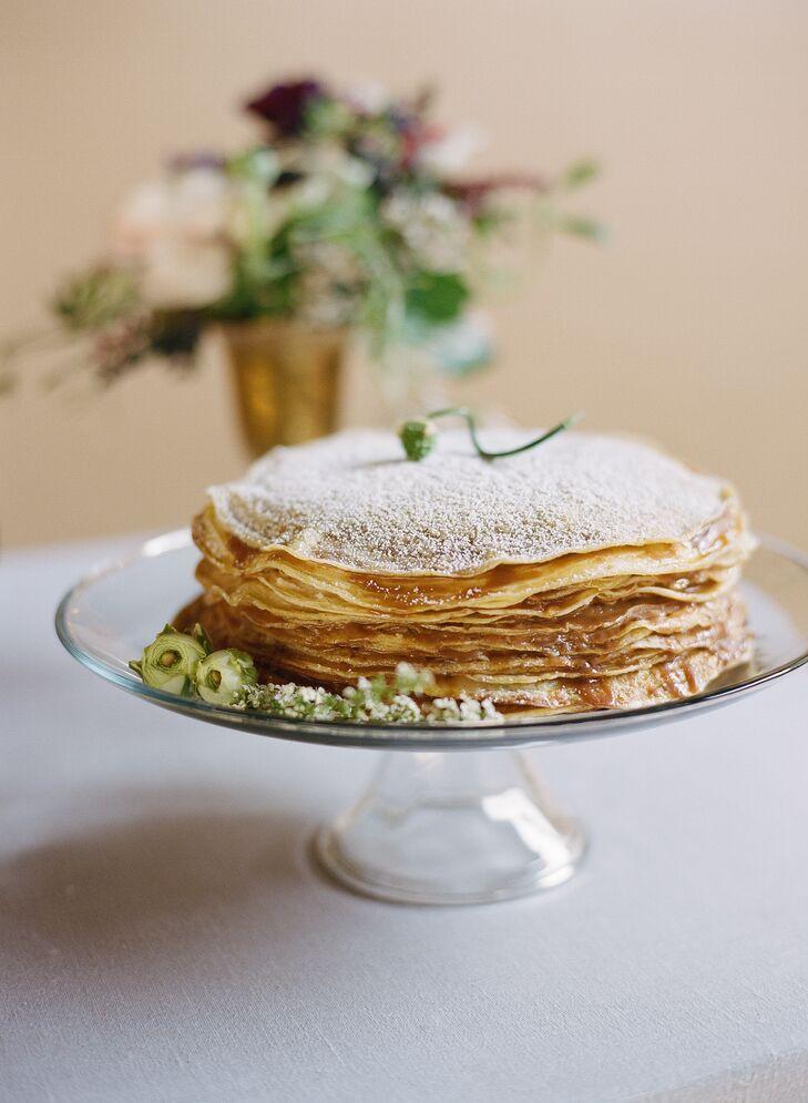 French Crepe Cake Dessert