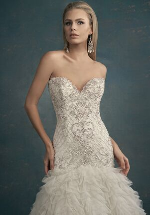 Jasmine Couture T192061 Mermaid Wedding Dress