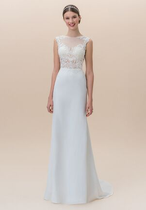 Moonlight Tango T824A Mermaid Wedding Dress