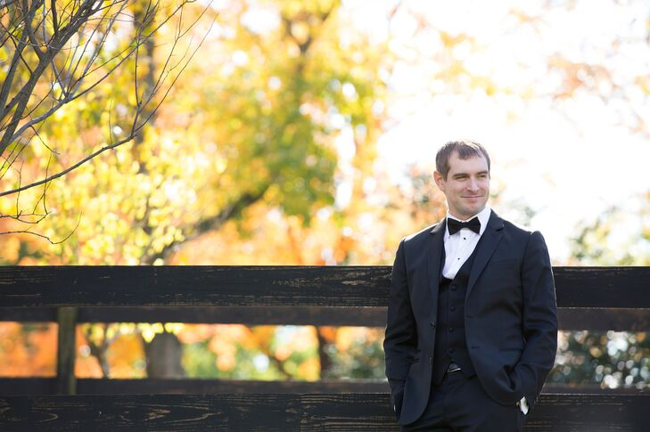 Classic Three-Piece Wedding Tuxedo