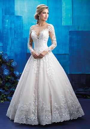 9c27e45686e5 Ball Gown Wedding Dresses | The Knot