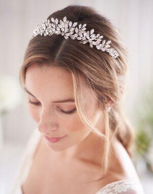 Dareth Colburn Tessa Crystal Wedding Tiara (TI-3384) Silver Tiara