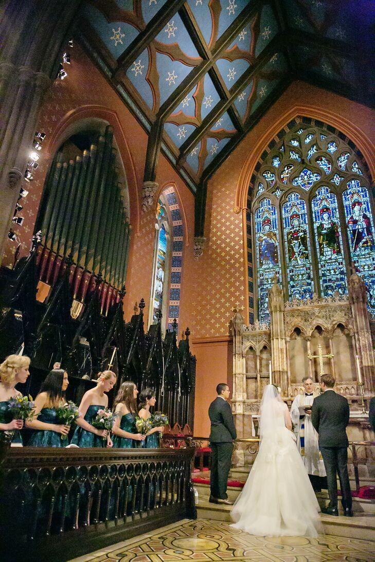 Catholic Ceremony at St. Ann's and the Holy Trinity Church