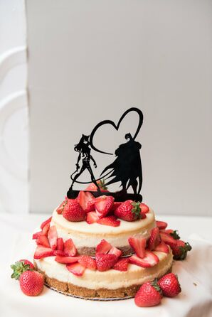 Catwoman and Batman Cake Topper
