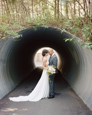Modern, Elegant Idaho Wedding