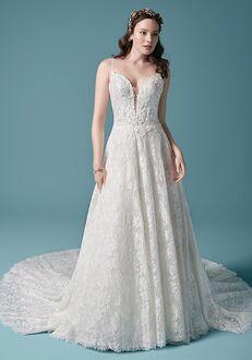 Maggie Sottero VALENTIA A-Line Wedding Dress