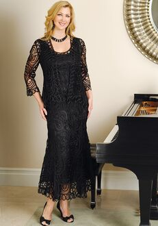 Soulmates D7052 Black Mother Of The Bride Dress