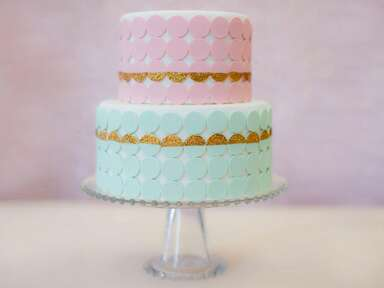 Necco Wafer Bridal Shower Cake