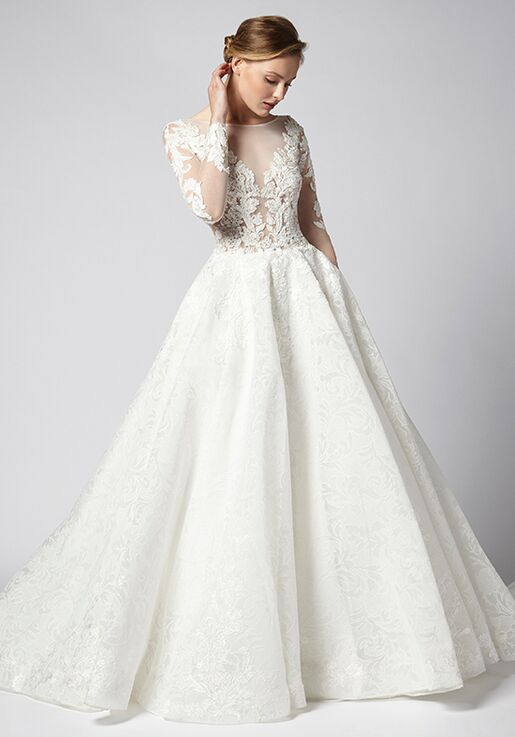 Henry Roth For Kleinfeld Epic Wedding Dress The Knot