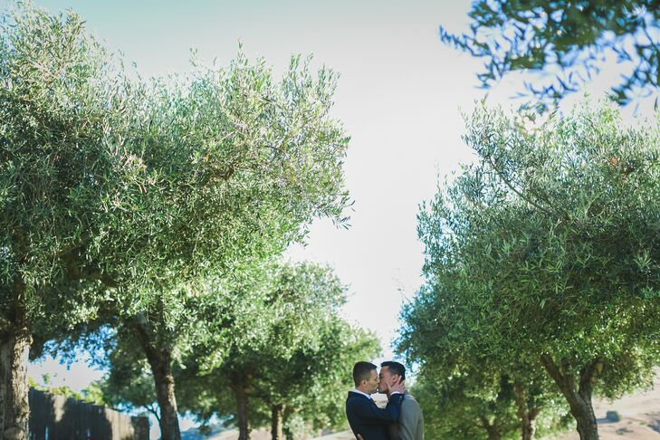 California Vineyard Same-Sex Wedding