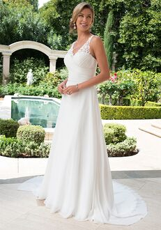 Pallas Athena PA9275 A-Line Wedding Dress