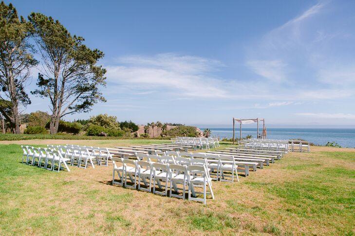 Classic Waterfront Ceremony Site at Dos Pueblos Ranch in Goleta, California
