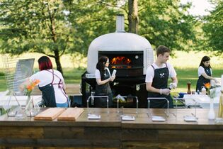 Wooden Paddle Wood-Fired Catering