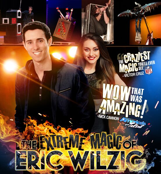 Extreme Magic Of Eric Wilzig -America's Got Talent - Magician - New York City, NY