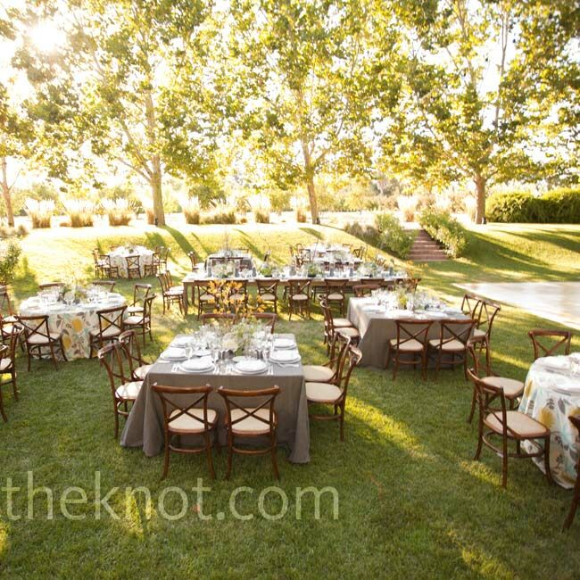 A Farm Wedding In Winters Ca, Round Table Winters
