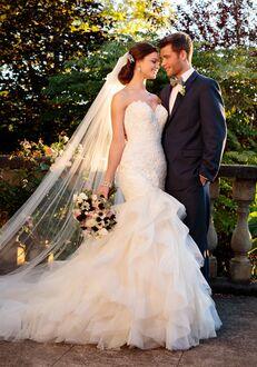 Essense of Australia D2258 Sheath Wedding Dress