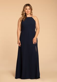 Hayley Paige Occasions W918 Halter Bridesmaid Dress