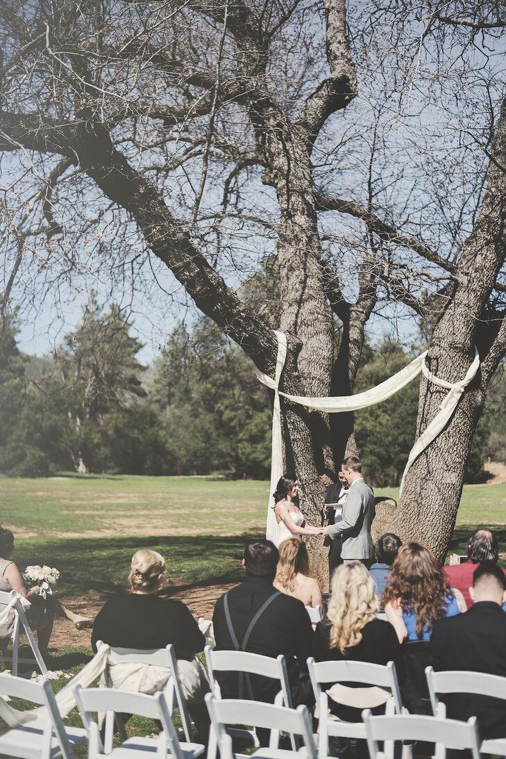 Sarah and Kolton, Outdoor Wedding Ceremony