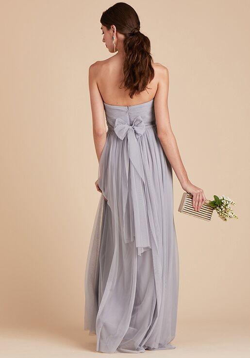 Birdy Grey Christina Convertible Dress in Silver Sweetheart Bridesmaid Dress