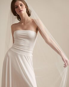 Dareth Colburn Barely There Wedding Veil (VB-5093) Ivory Veil