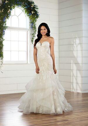 Essense of Australia D2908 Mermaid Wedding Dress