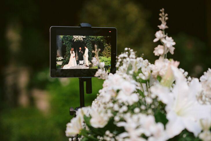 Video Streaming for Wedding Ceremony in Westbury, New York