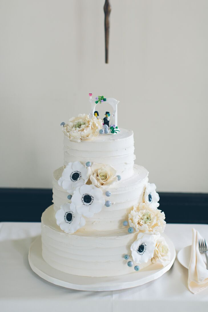 Buttercream Cake With Lego Cake Topper