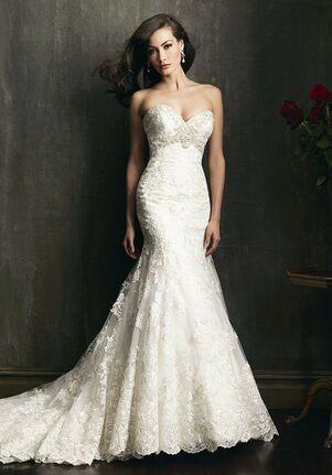 Allure Bridals 9051 A-Line Wedding Dress