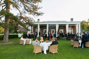Outdoor Wedding Reception at Highlands Country Club