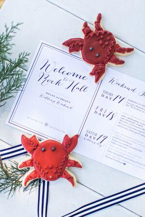 Nautical Navy Wedding Stationery