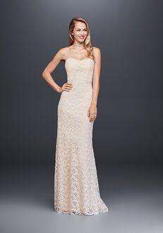 David's Bridal David's Bridal Style WG3885 Sheath Wedding Dress