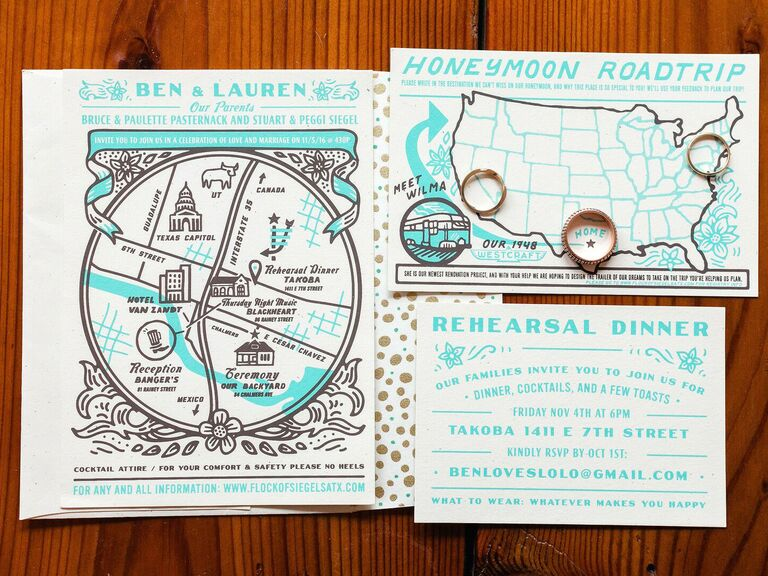 how important are wedding invitations custom illustrated cards