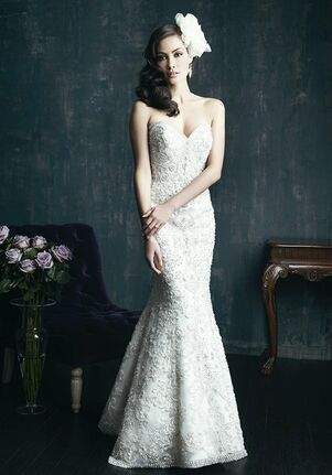 Allure Couture C267 Sheath Wedding Dress