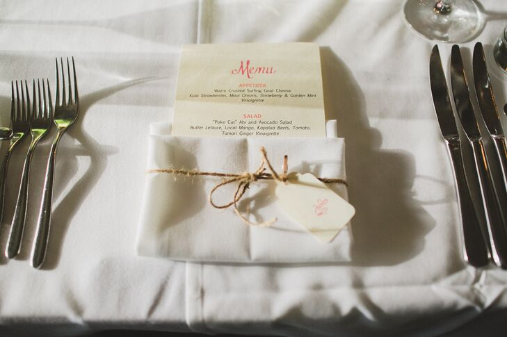 Twine Accented Linens