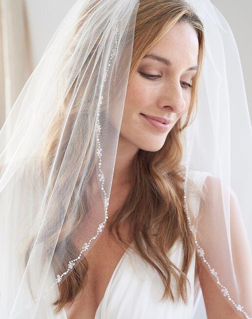 Dareth Colburn Anna Crystal & Pearl Bridal Veil (VB-5055) Veil