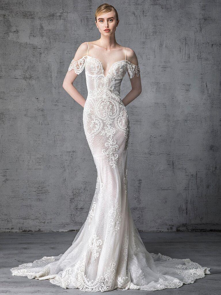 Victoria Kyriakides Spring 2019 Collection Bridal Fashion Week Photos
