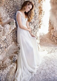 Jim Hjelm 8508 A-Line Wedding Dress