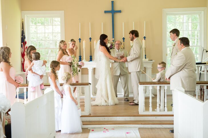 Traditional Chapel Wedding Ceremony