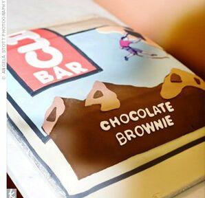 Clif Bar Groom's Cake