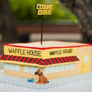 Waffle House Groom's Cake