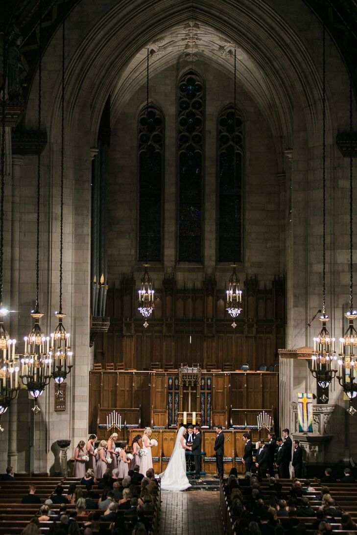Fourth Presbyterian Church Ceremony