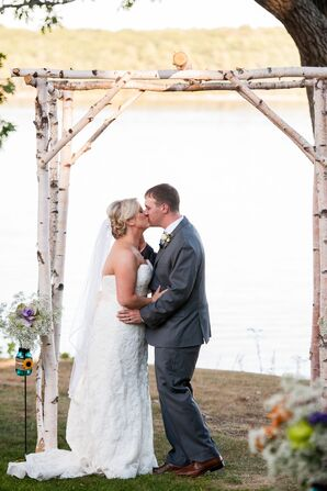 Birch Branch Wedding Arch
