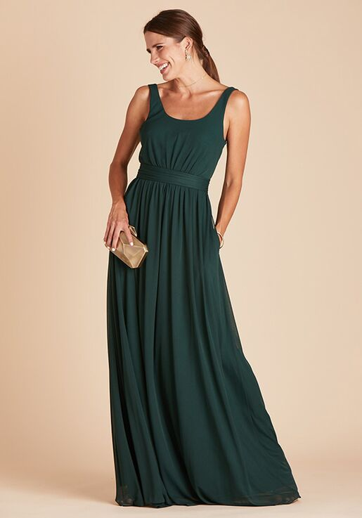 Birdy Grey Jan Dress in Emerald Scoop Bridesmaid Dress