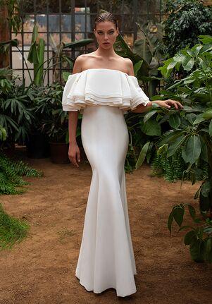ZAC POSEN FOR WHITE ONE NOEMI Mermaid Wedding Dress