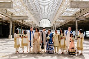 Glamorous Indian Wedding Party in St. Louis