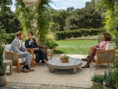 meghan markle and prince harry sit down with oprah winfrey on cbs