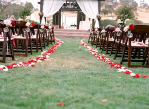 Elegant Outdoor Vineyard Ceremony