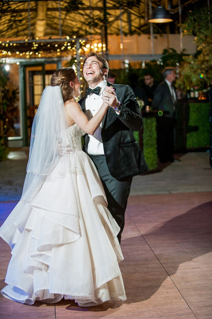 "The couple's first dance was to ""Higher Love"" by James Vincent McMorrow."
